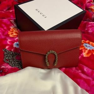 Gucci Wallet On Chain/ Clutch